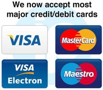 accept cards payment